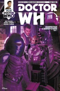 DOCTOR WHO: TENTH DOCTOR #3.3 COVER B: WILL BROOKS PHOTO