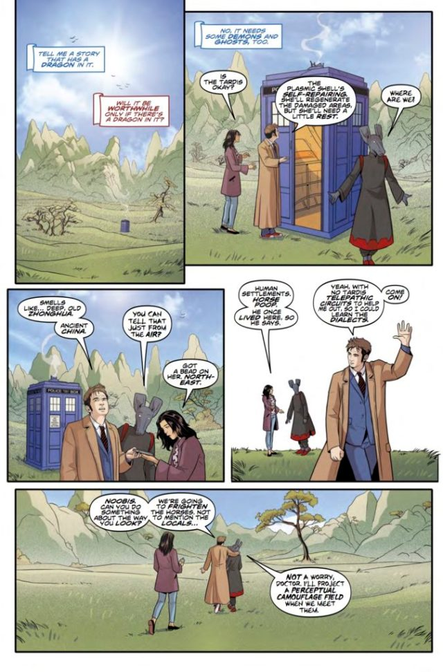 DOCTOR WHO: TENTH DOCTOR #3.3 PREVIEW 3