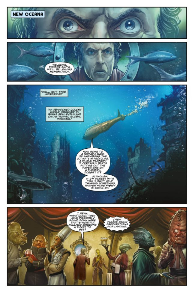 TITAN COMICS - DOCTOR WHO: TWELFTH DOCTOR YEAR THREE #1 - PREVIEW 1