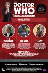 TITAN COMICS - DOCTOR WHO: GHOST STORIES #1 (OF 4)