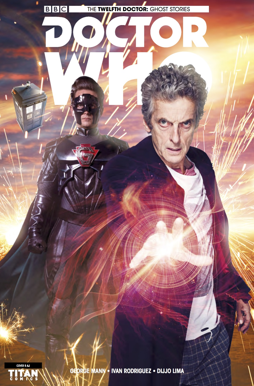 TITAN COMICS - DOCTOR WHO: GHOST STORIES #1 (OF 4) COVER B: Photo variant - Will Brooks