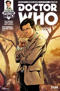 TITAN COMICS - DOCTOR WHO: ELEVENTH DOCTOR YEAR 3 #4 - COVER A - REGULAR By Wellington Diaz