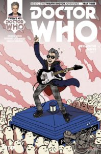 TITAN COMICS - DOCTOR WHO: TWELFTH DOCTOR YEAR THREE #1 - Cover C: Rachael Smith