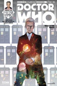 TITAN COMICS - DOCTOR WHO: TWELFTH DOCTOR YEAR THREE #1 - Cover F: Pasquale Qualano
