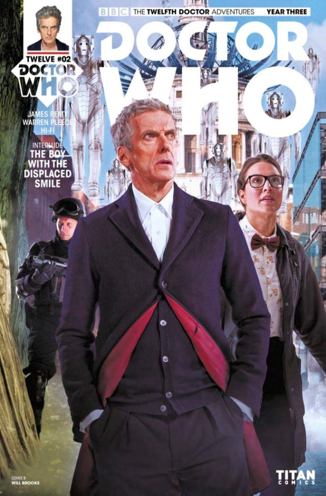 DOCTOR WHO: TWELFTH DOCTOR YEAR 3 #2 COVER B - PHOTO Will Brooks