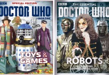 DOCTOR WHO MAGAZINE SPECIAL EDITION 46: TOYS & GAMES & The Essential Doctor Who: Robots © Panini © PANINI