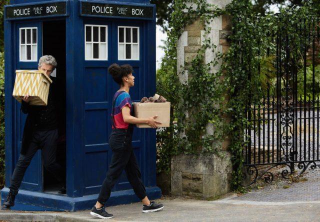 Doctor Who - Knock Knock - The Doctor (PETER CAPALDI), Bill (PEARL MACKIE) - (C) BBC/BBC Worldwide - Photographer: Simon Ridgway