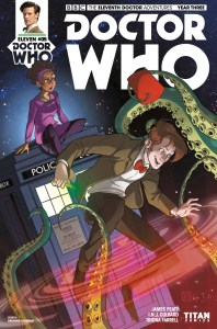 TITAN COMICS - Doctor Who : The Eleventh Doctor Year Three #5 Cover A: Arianna Florean