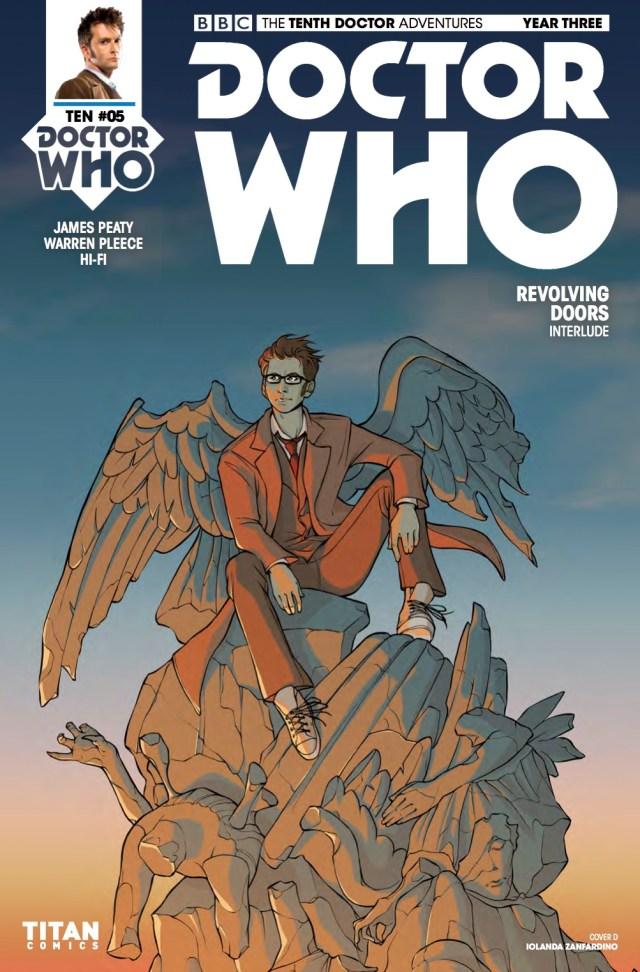 TITAN COMICS - TENTH DOCTOR YEAR THREE #5 - COVER D: IOLANDA ZANFARDINO