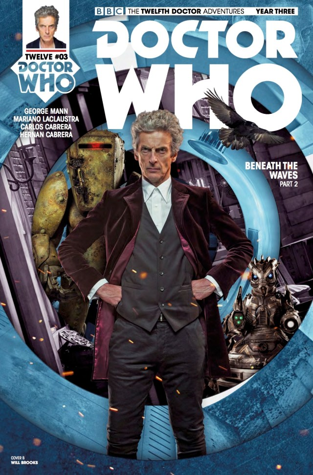 TITAN COMICS - TWELFTH DOCTOR YEAR THREE #3 - COVER B: WILL BROOKS - PHOTO