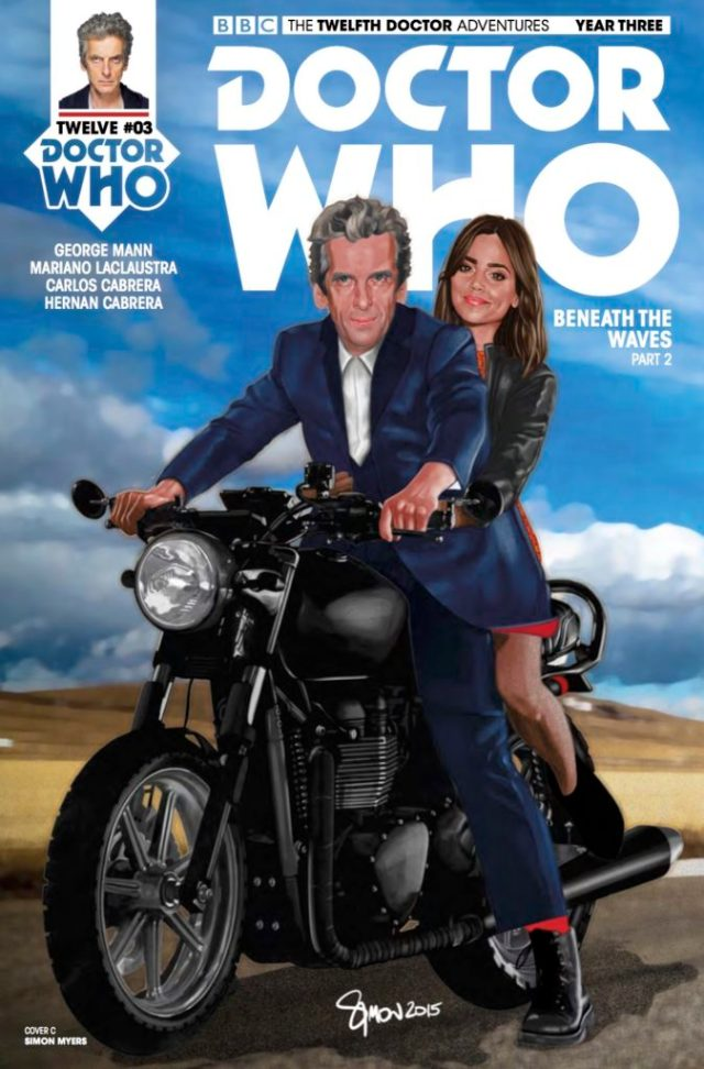 TITAN COMICS - TWELFTH DOCTOR YEAR THREE #3 - COVER C: SIMON MYERS