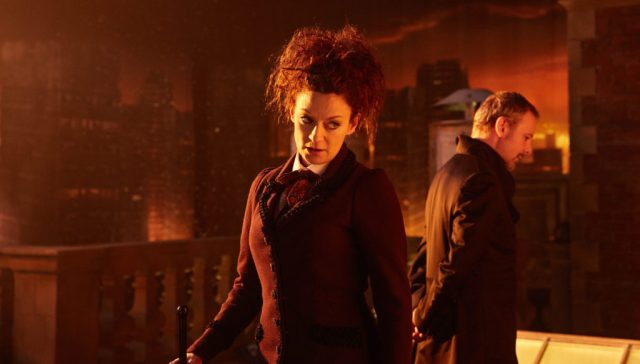 Doctor Who S10 - The Doctor Falls - The Master (JOHN SIMM), Missy (MICHELLE GOMEZ) - (C) BBC/BBC Worldwide - Photographer: Simon Ridgway