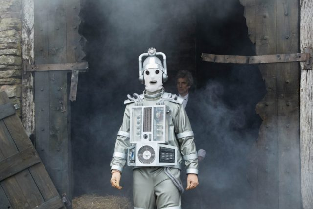 Doctor Who - S10 - The Doctor Falls - Mondasian Cyberman, The Doctor (PETER CAPALDI) - (C) BBC/BBC Worldwide - Photographer: Simon Ridgway