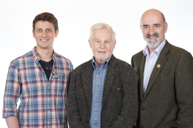 Scott Handcock, Sir Derek Jacobi and Nicholas Briggs - (c) Big Finish