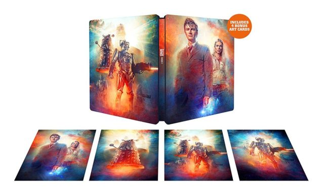 Doctor Who Series 2 Steelbook ArtCards