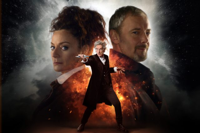 Doctor Who S10 - World Enough and Time: Missy (MICHELLE GOMEZ), The Master (JOHN SIMM), The Doctor (PETER CAPALDI) - (C) BBC/BBC Worldwide - Photographer: Simon Ridgway/Ray Burmiston