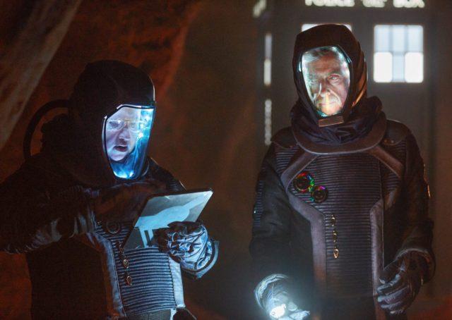 Doctor Who S10 Empress of Mars (No. 9) The Doctor (PETER CAPALDI), Nardole (MATT LUCAS) - (C) BBC/BBC Worldwide - Photographer: Simon Ridgway