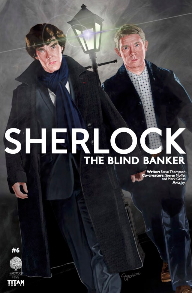 SHERLOCK: THE BLIND BANKER #6 COVER C BY SIMON MYERS