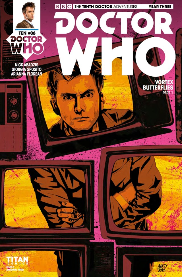 DOCTOR WHO: THE TENTH DOCTOR YEAR 3 #6 - Cover A: Antonio Fuso