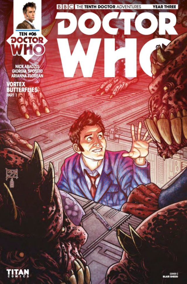 D​OCTOR WHO: THE TENTH DOCTOR YEAR 3 #6​ - Cover C: ​Blair Shedd