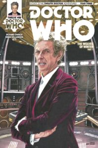 TITAN COMICS - DOCTOR WHO 12TH YEAR THREE #5 - COVER D: ANDY WALKER