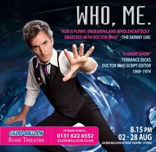 'WHO, ME' Comes To The Edinburgh Fringe Festival
