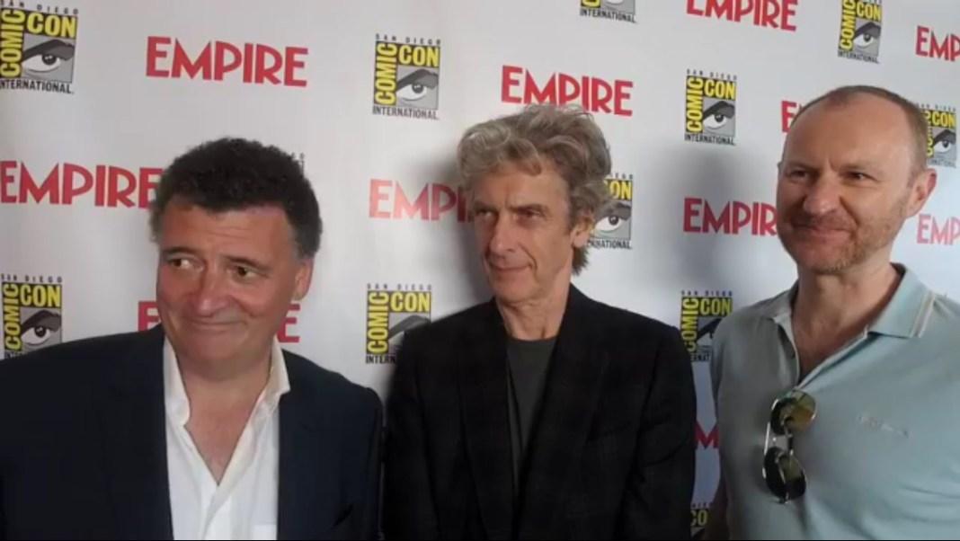 Moffat, Capaldi and Gatiss
