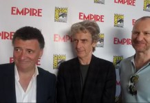 Moffat, Capaldi and Gatiss