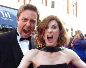 Andrew Buchan & Jodie Whittaker - BAFTA