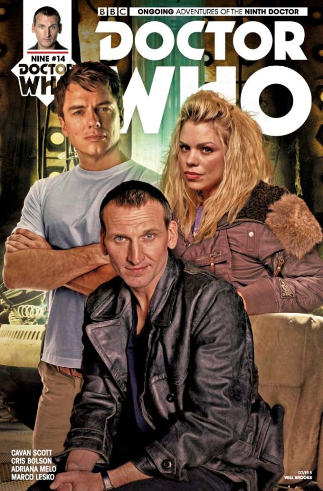 TITAN COMICS - DOCTOR WHO: NINTH DOCTOR #14 - COVER B BY WILL BROOKS