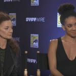 Michele Gomez (Missy and Pearl Mackie (Bill) - San Diego Comic Con 2017