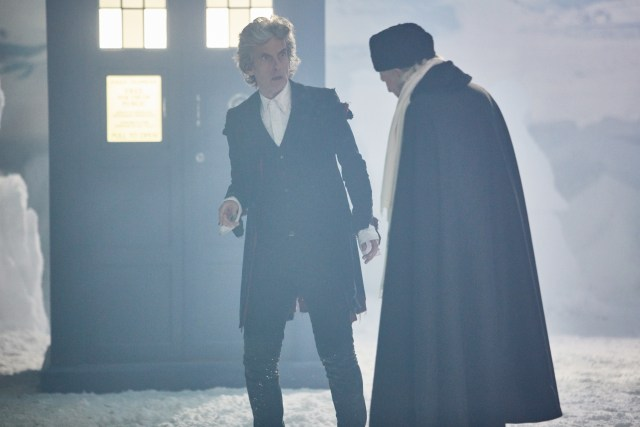 Doctor Who: Christmas Special 2017 - The Twelfth Doctor (Peter Capaldi) and the First Doctor (David Bradley) (c) BBC