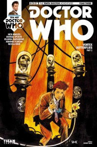 TITAN COMICS - DOCTOR WHO: TENTH DOCTOR #3.7 COVER A: ROBERT HACK