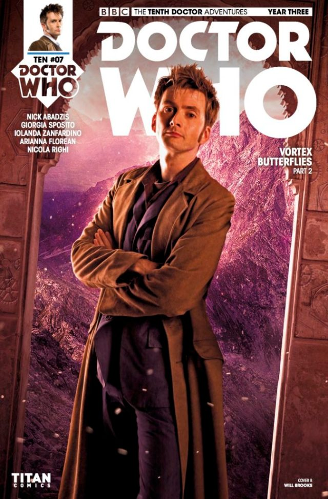 TITAN COMICS - DOCTOR WHO: TENTH DOCTOR #3.7 COVER B: PHOTO BY WILL BROOKS