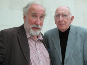 Christopher Benjamin and Trevor Baxter