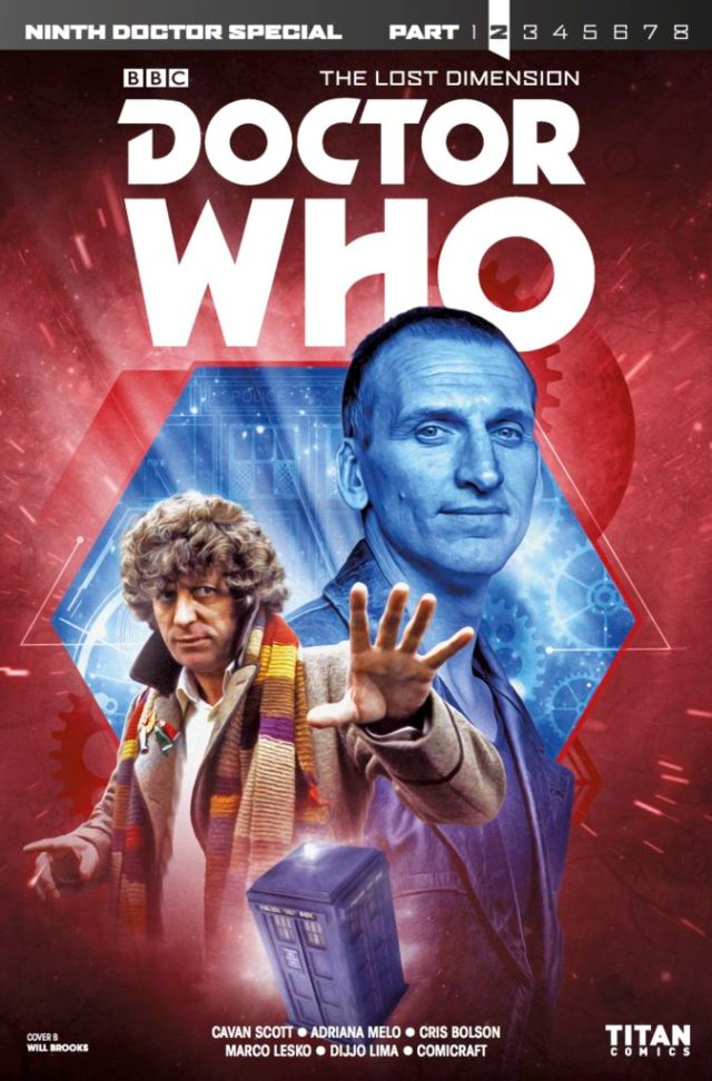 DOCTOR WHO: THE LOST DIMENSION #2 - NINTH DOCTOR SPECIAL - COVER B: Photo - Will Brooks