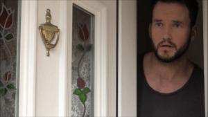 Gareth David-Lloyd as Lucifer Jones in 'Be My Head'