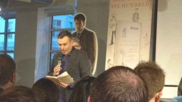 James Goss reads 'Ode to a Krynoid'