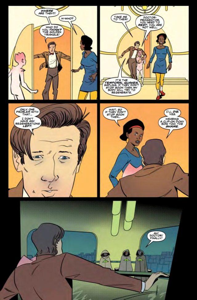 TITAN COMICS DOCTOR WHO ELEVENTH DOCTOR YEAR THREE #11