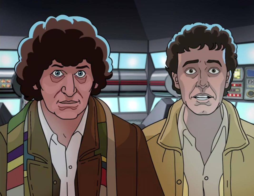 Doctor Who - Shada - Tom Baker and Daniel Hill - BBC Worldwide