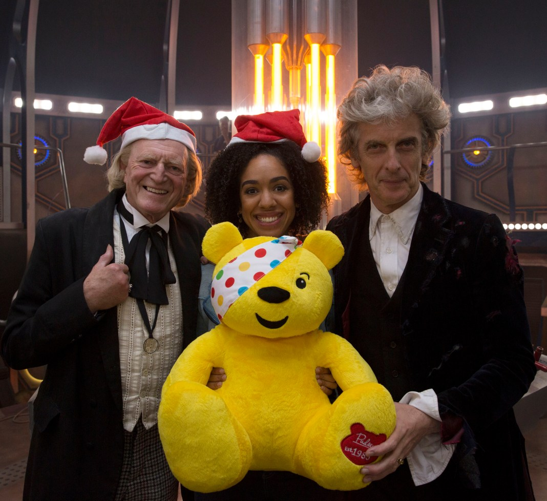Doctor Who Children In Need Special 2017 - David Bradley, Pearl Mackie, Peter Capaldi - (C) BBC WorldWide - Photographer: Simon Ridgway