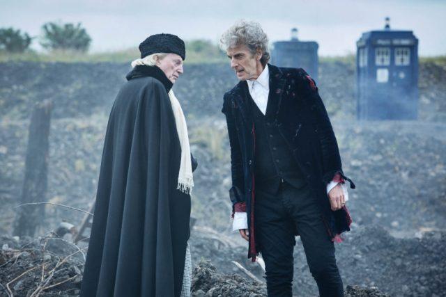 Doctor Who -  The Doctor (DAVID BRADLEY) The Doctor (PETER CAPALDI) - (C) BBC/BBC Worldwide - Photographer: Simon Ridgway