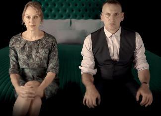 Niamh Cusack & Christopher Eccleston in Macbeth (c) RSC