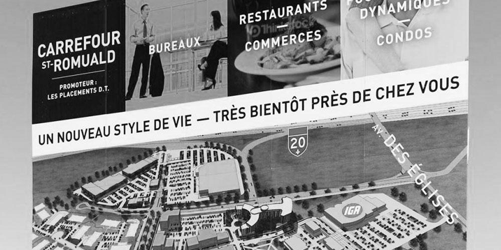 Le Carrefour St-Romuald à venir