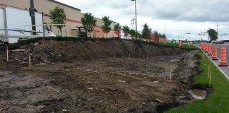 Nouvel accès au stationnement du Costco à Lévis