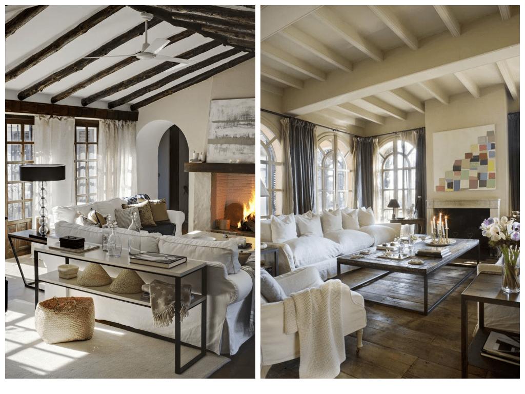 Ides Et Photos Pour Une Salle De Sjour Moderne Rustique