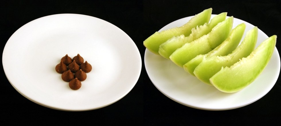 200_calories_hershey-kisses-vs-melon-miel