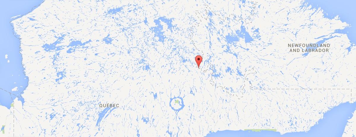 localisation-de-la-mine-de-fer-du-lac-bloom-au-quebec