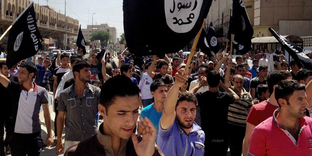 Manifestation pour l'État islamique