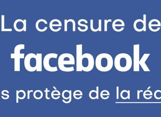 Censure de Facebook